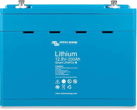 Lithium battery 12,8V & 25,6V Smart