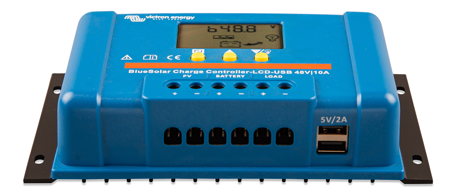 CONTROLEUR DE CHARGE VICTRON ENERGY BLUESOLAR PWM LCD/&USB 12//24V 20A VICTRON ENERGY