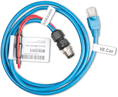 VE.Can till NMEA2000 mikro-C-kabel (hane).